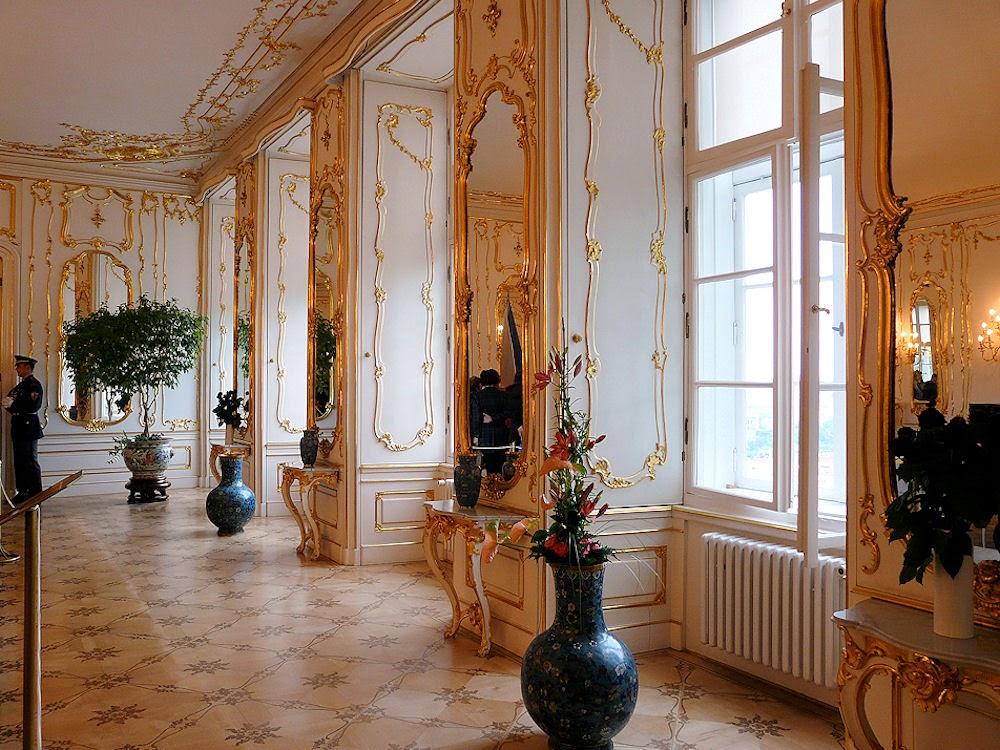Prague Castle state rooms interior