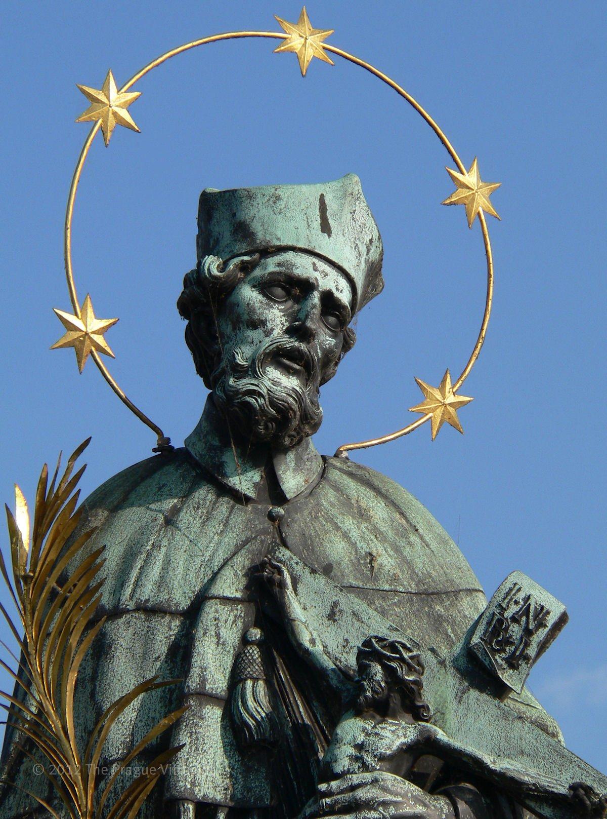 Statue of John Nepomuk, Charles Bridge