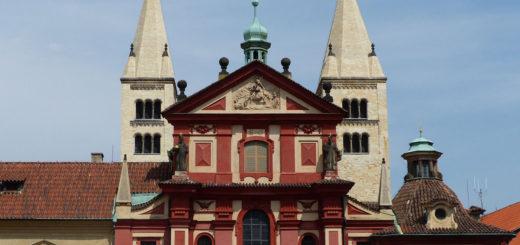 Interior of the Basilica of Saint George, Prague Castle