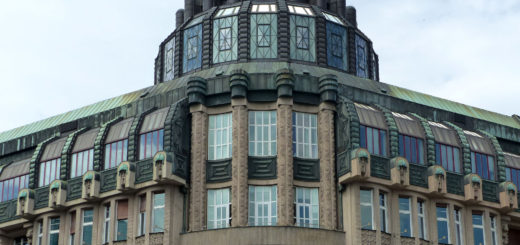Šupich building, Prague, detail