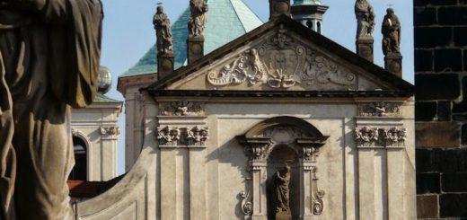 Křižovnické náměstí: Church of the Holy Saviour