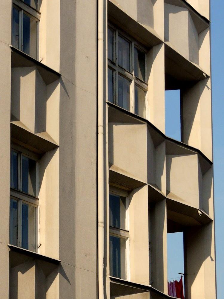 Josef Chochol cubist apartment building