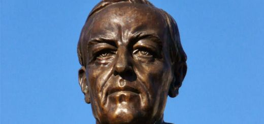 Vrchlického sady: President Woodrow Wilson