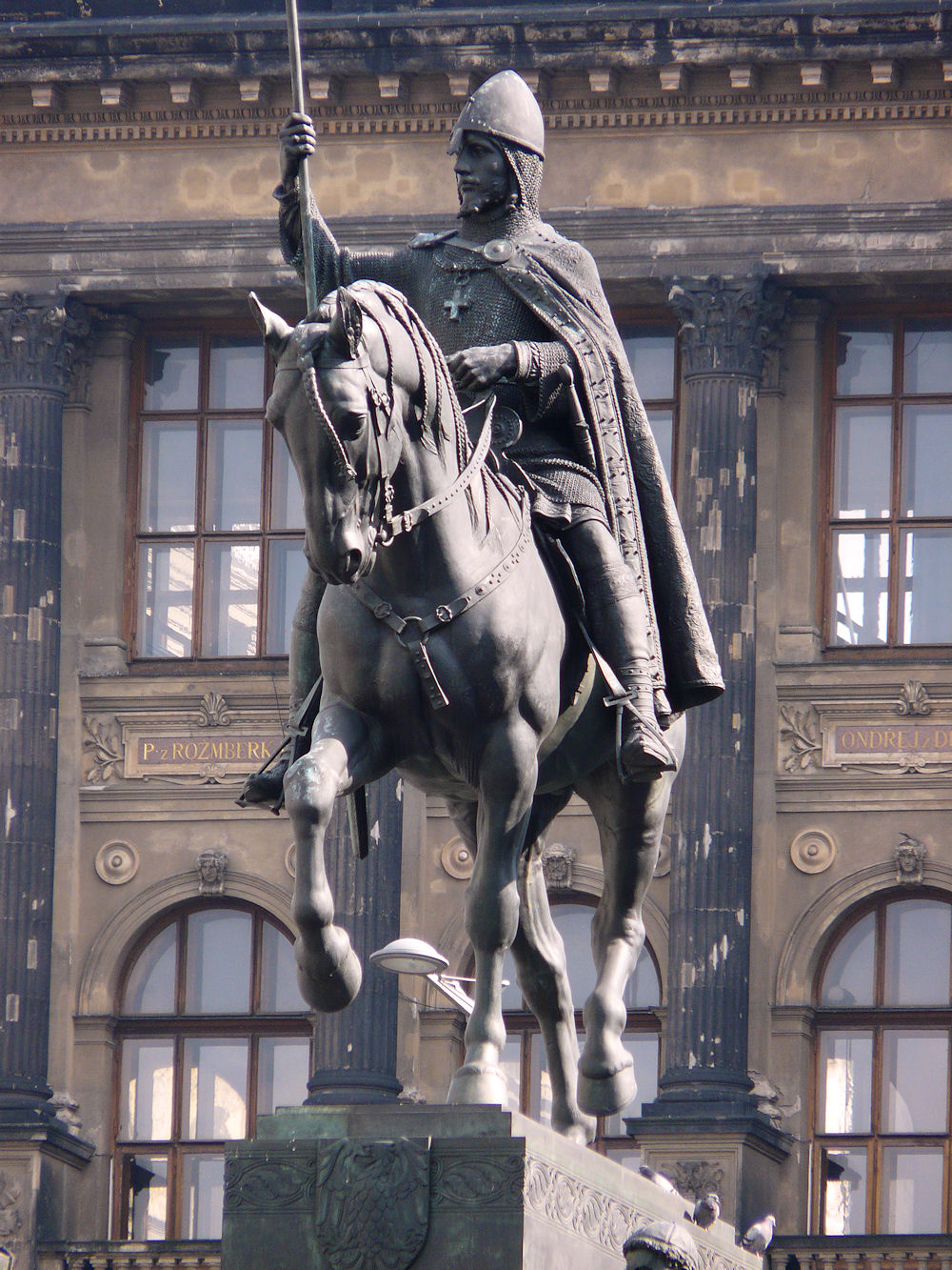 Statue of Saint Wenceslas, Prague