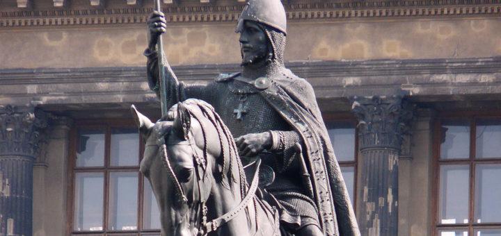 Václavské náměstí: Statue of Saint Wenceslas