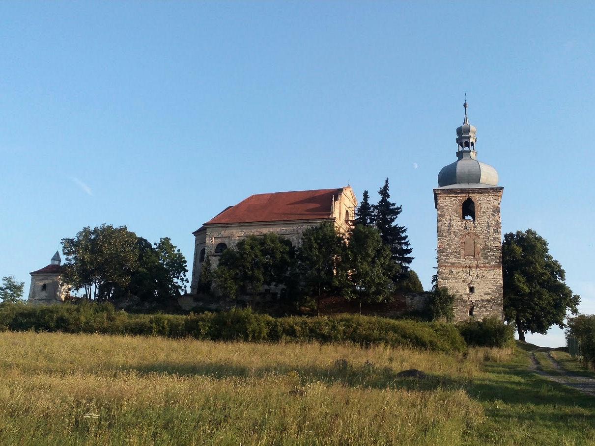 Zahořany church