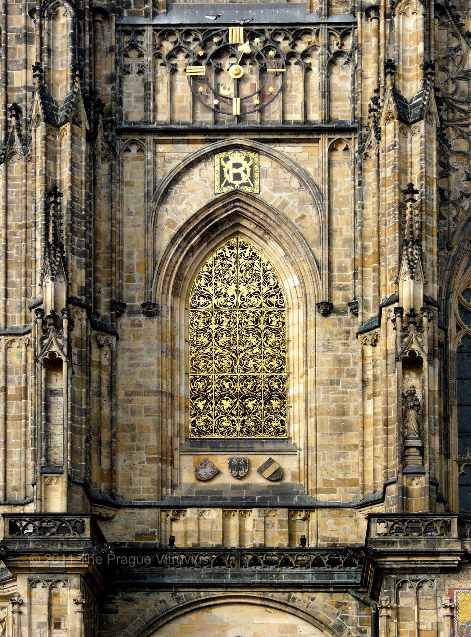 Tower of Saint Vitus Cathedral, Prague Castle
