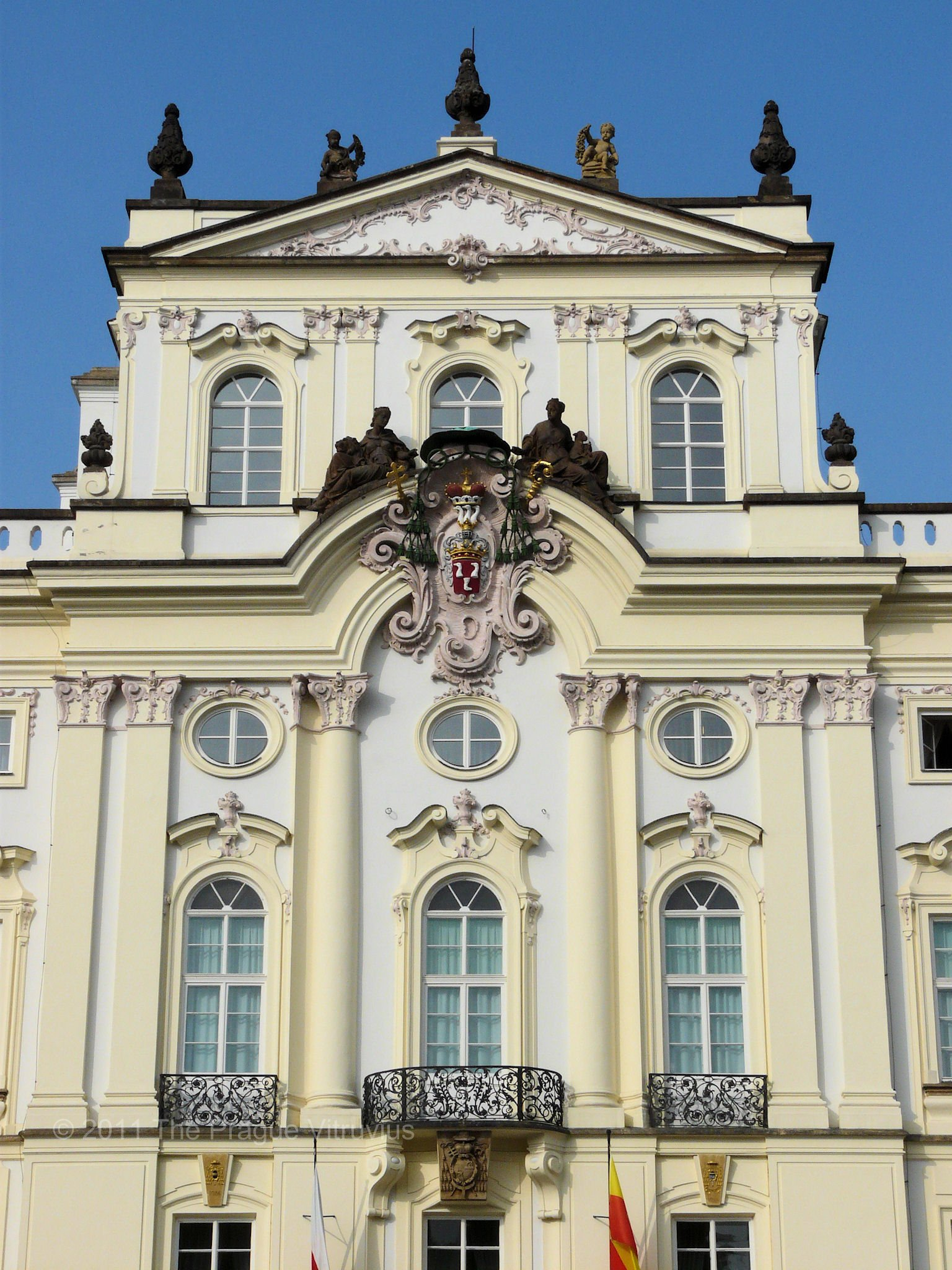Archbishop's Palace in Prague