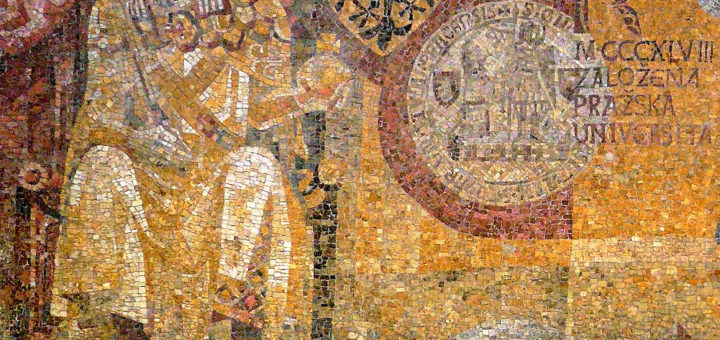 Karlovo náměstí metro, mosaic