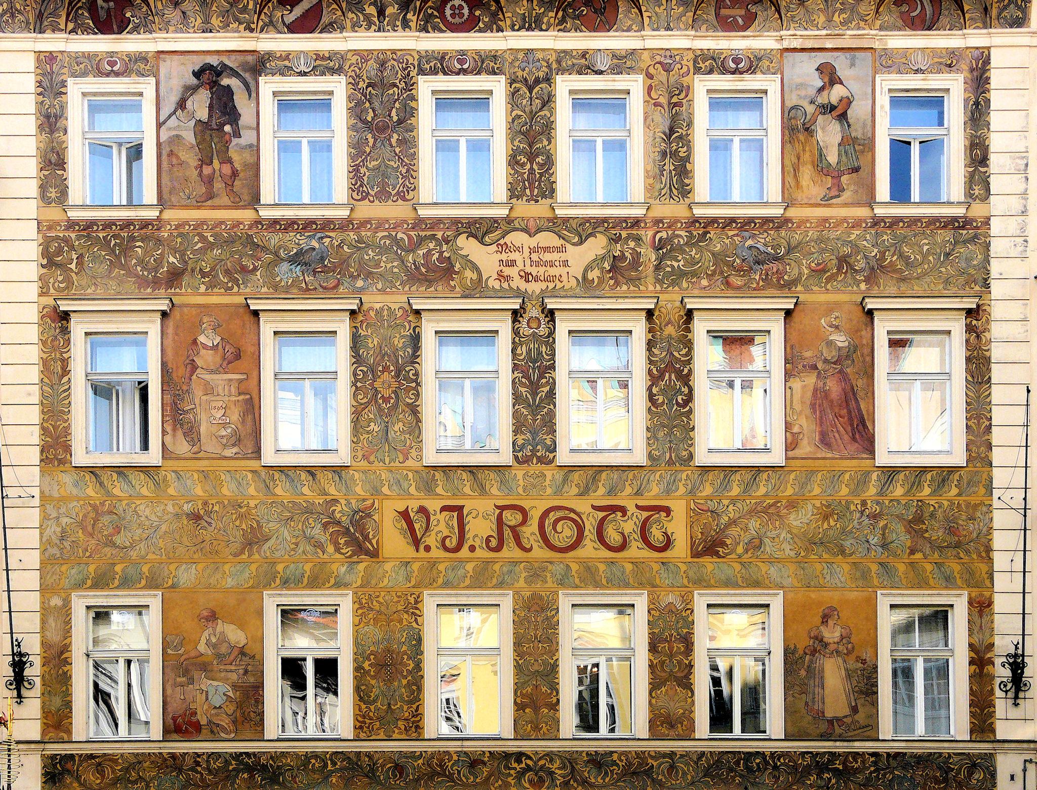 U Rotta, Prague
