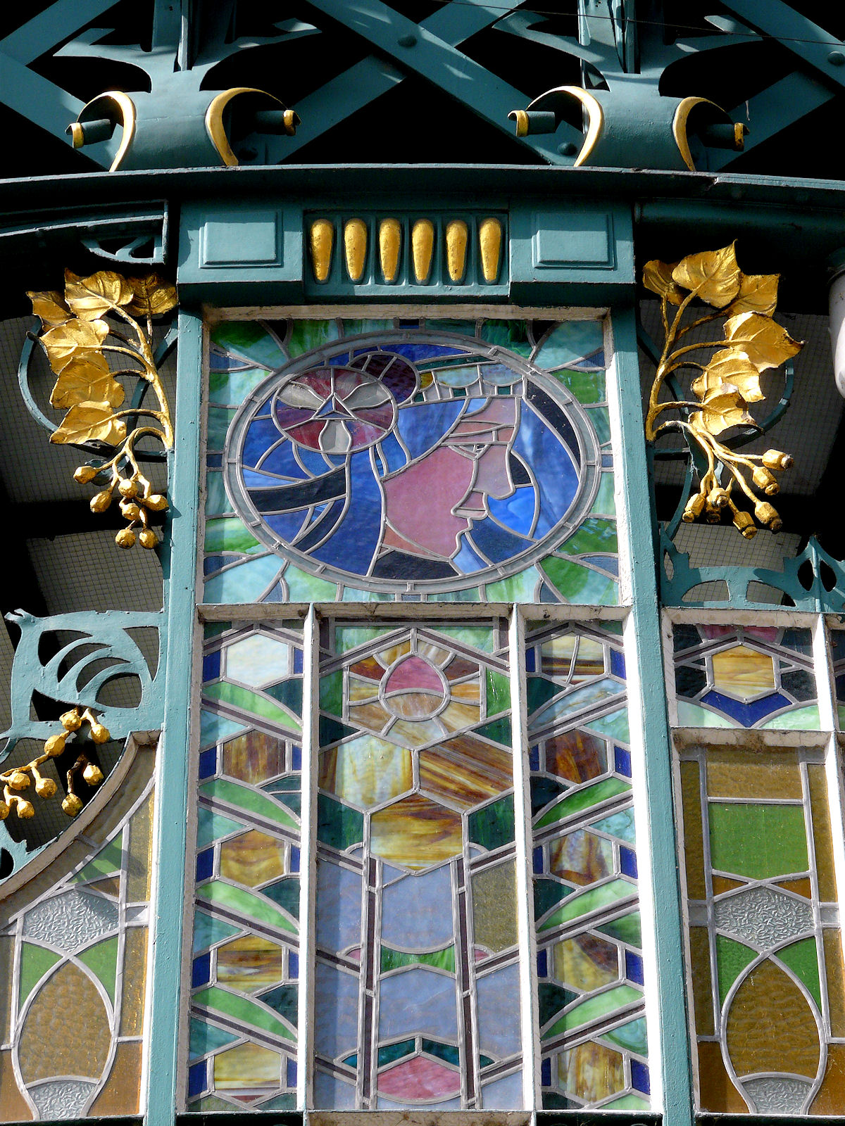 Municipal House, Prague, stained glass
