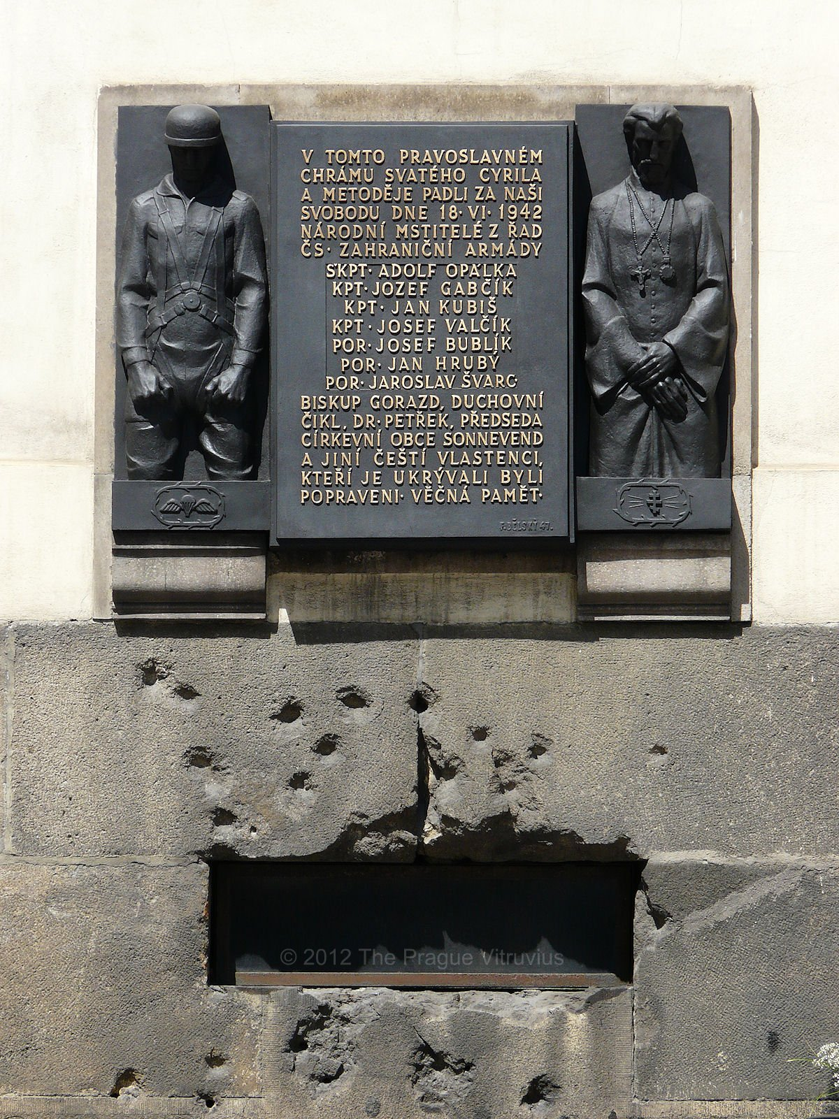 Operation Anthropoid memorial