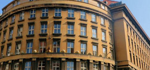 Slezská 2000/9: Municipal Court (former Tobacco Company)