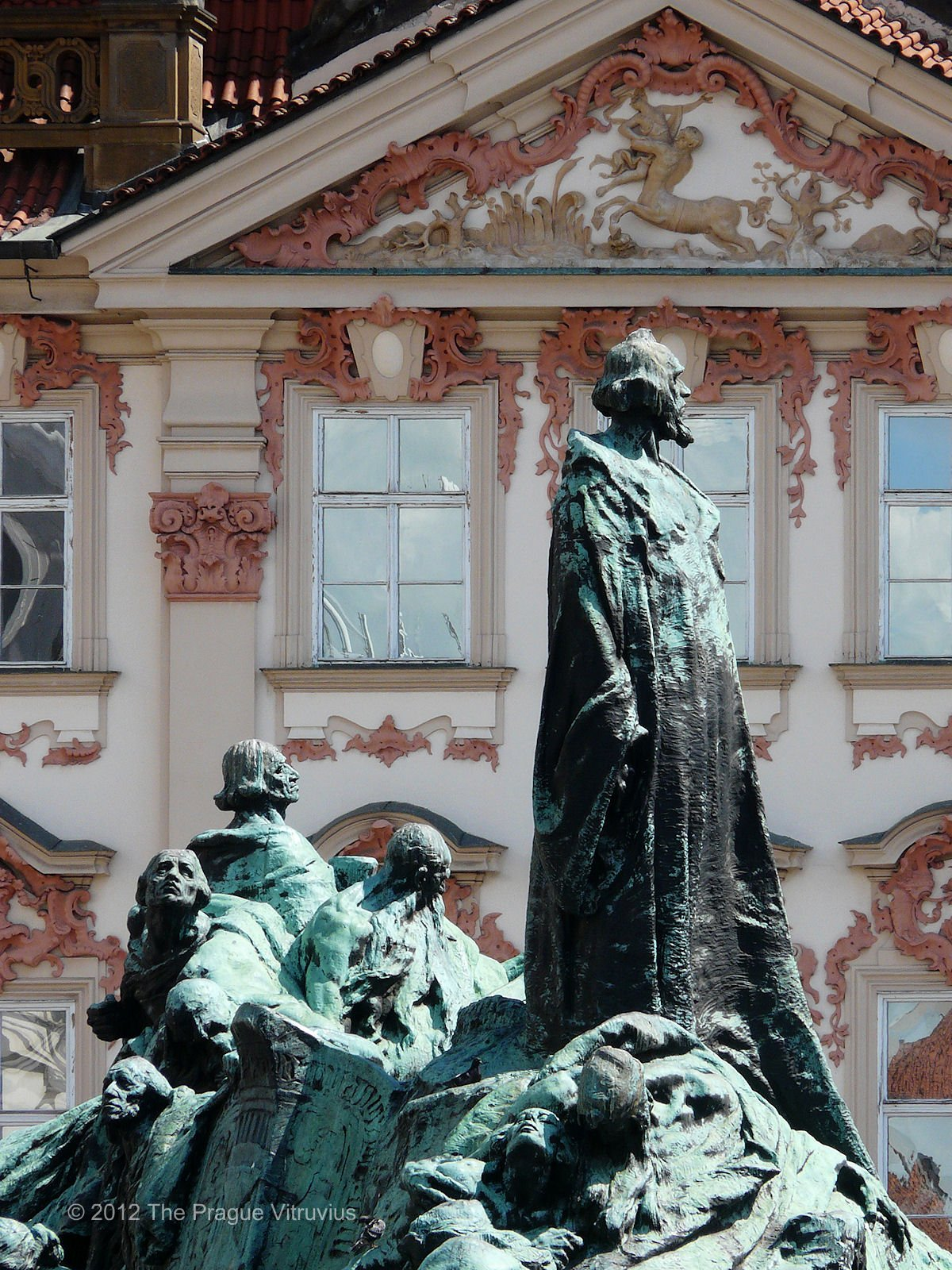 Statue of Jan Hus, Old Town, Prague