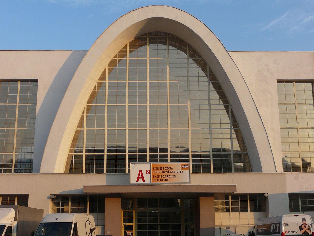 Brno exhibition hall