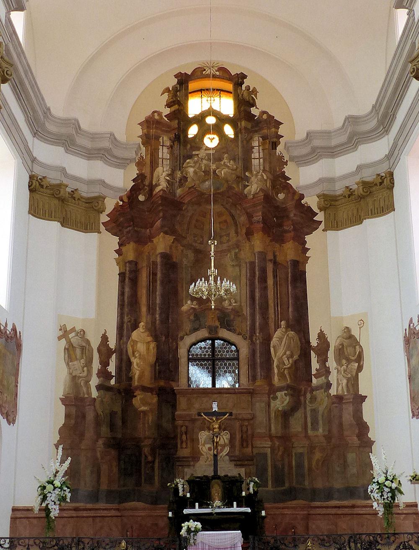 Marianska Tynec interior
