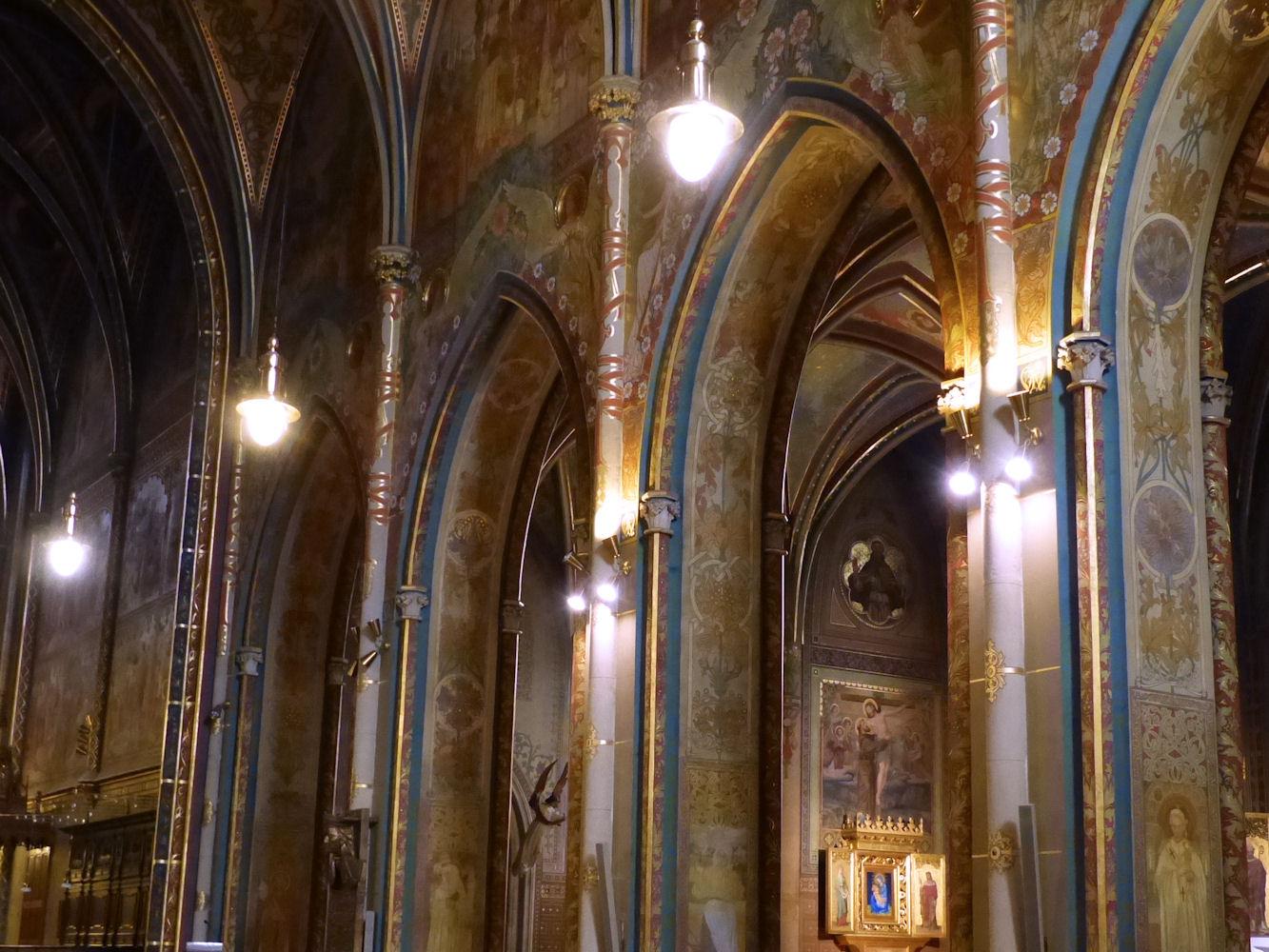 Basilica interior, Vyšehrad
