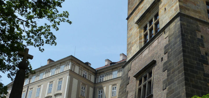 Prague Castle: Ludvík Wing and 'Bull' Staircase