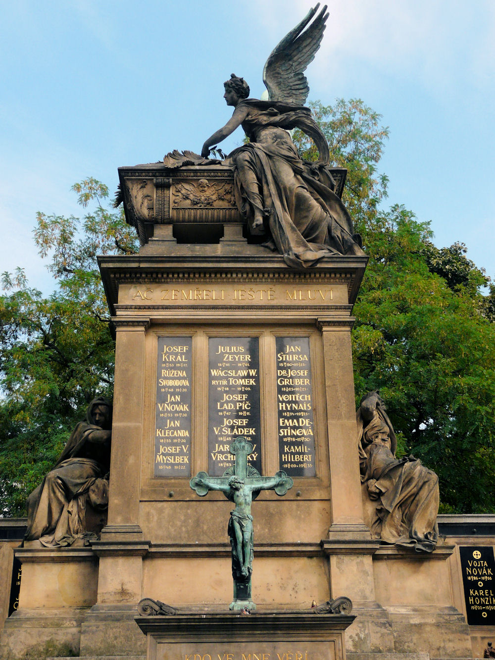 Slavín monument at Vyšehrad, Prague