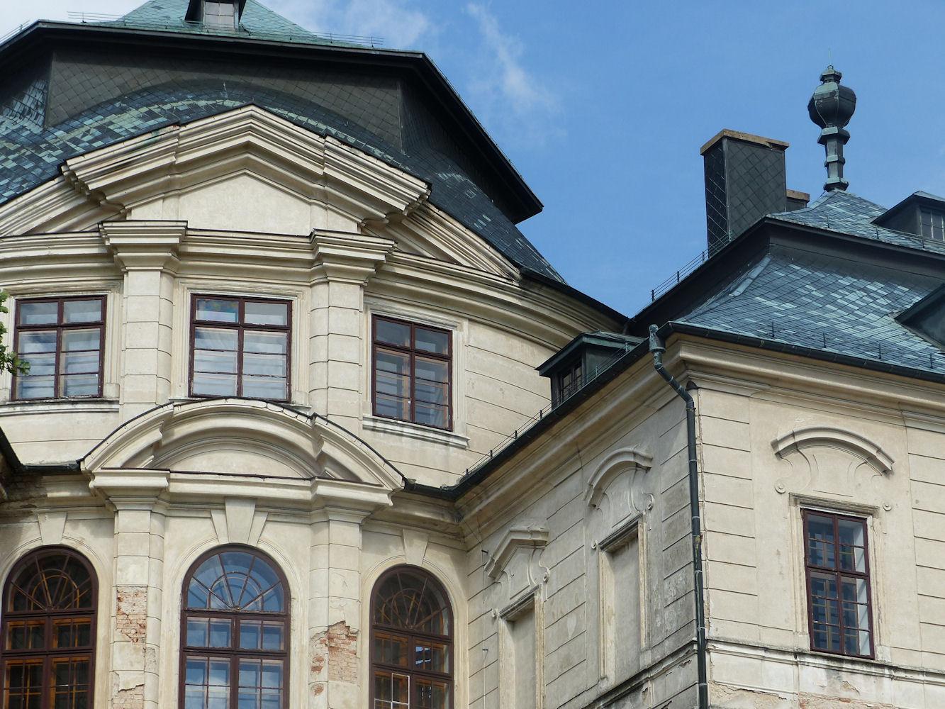 Karlova Koruna at Chlumec, detail