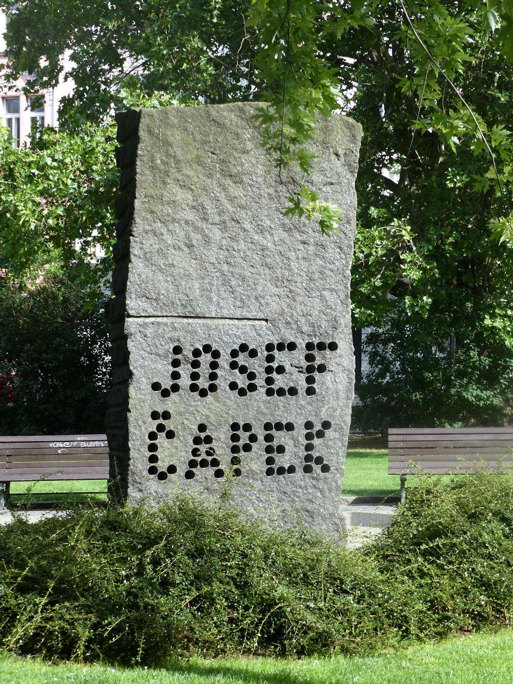 Čapek memorial, Prague