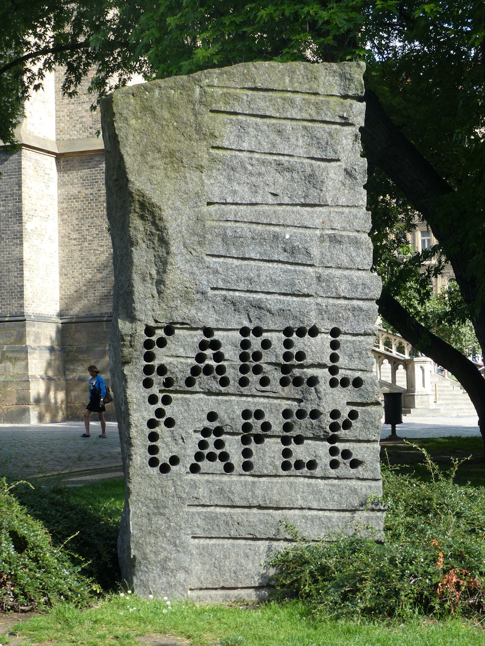 Karel Čapek memorial, Prague