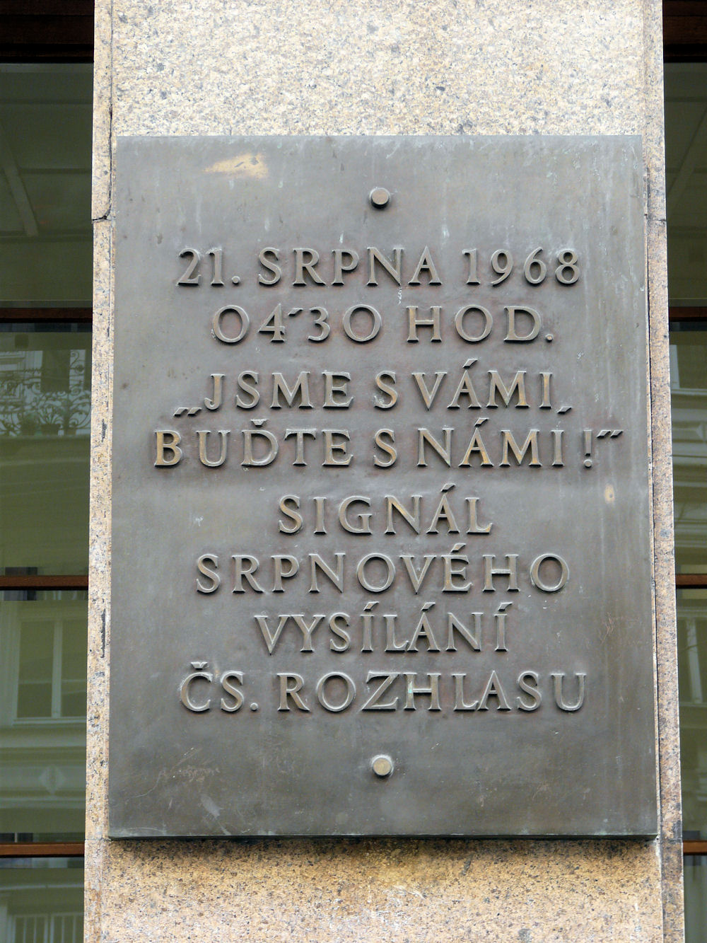 1968 memorial, Czech Radio