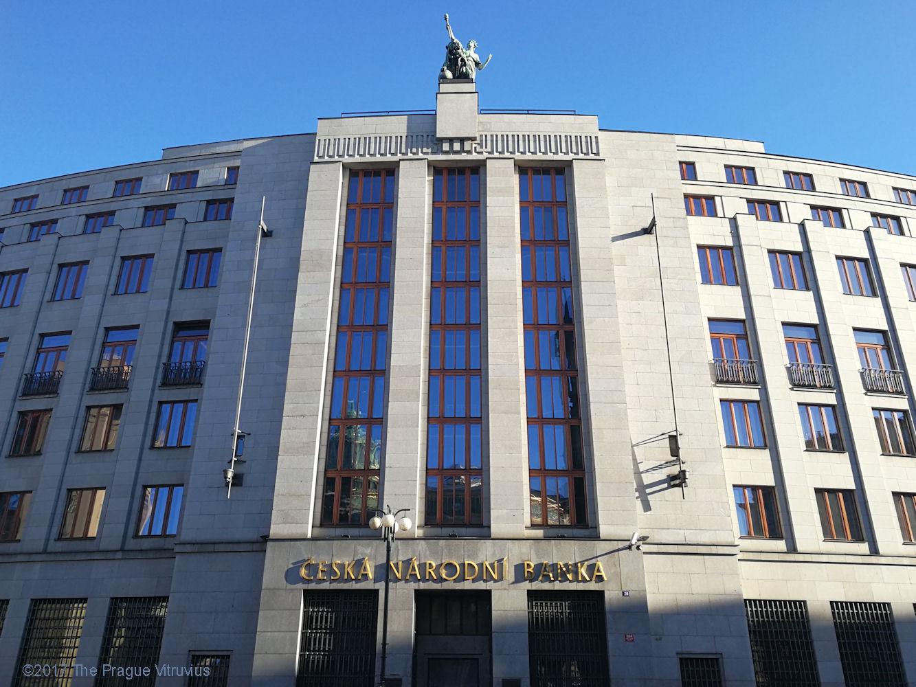 Czech National Bank. Prague